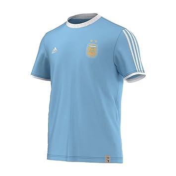 Adidas Argentina Messi Fan - Camiseta Hombre, Bleu - Bleu, XX-Large: Amazon.es: Deportes y aire libre