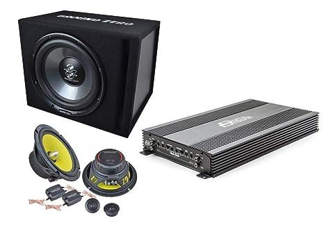 Soundpak Dz Amplificatore Dd Digital Designs 4 Canali Kit Casse