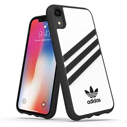 786d777e361b4 adidas OR Moulded Case PU FW18 for iPhone XR, White, Samba