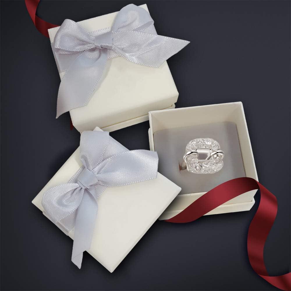 mytysun Grand Anneau Bague pour Femme en Swarovski Elements Bagues de d/éclaration pour Dames Femmes Vintage Bagues Bague Large en Cristal Cadeaux