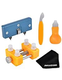 Paxcoo Watch Back Remover Tool Kit for Watch Repair and Battery Replacement