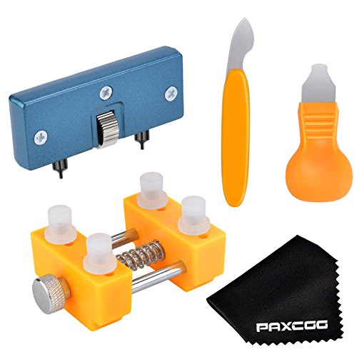 Paxcoo Watch Back Remover Tool Kit for Watch Repair and Battery Replacement (Kit Repair Replacement)