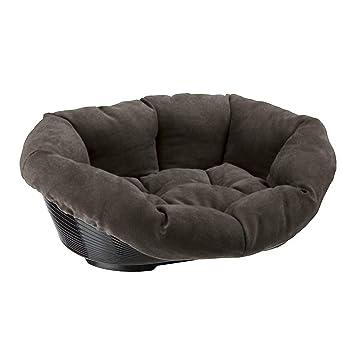 Ferplast sofá Prestige 6 Gato y Perro Cama, Tejido sintético, 73 x 55 x 27 cm, Color Gris: Amazon.es: Productos para mascotas