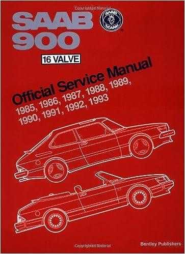 Saab 900 16-valve Official Service Manual 1985-93: Including 1994 Convertible Workshop Manual: Amazon.es: Bentley Publishers: Libros en idiomas extranjeros