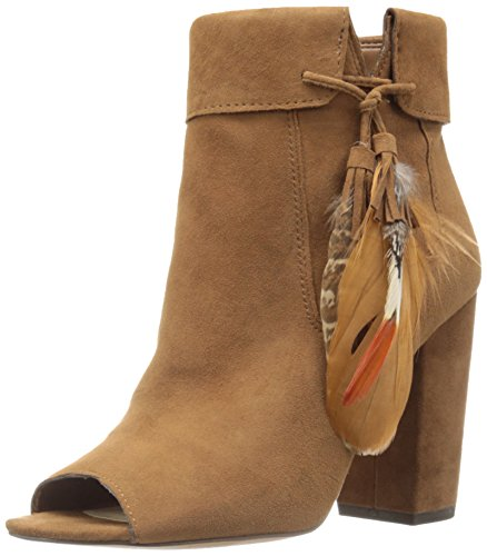 Jessica Simpson Handbags And Shoes - Jessica Simpson Women's Kailey Ankle Bootie, Canela Brown, 7 M US
