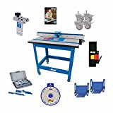 Kreg PRS1045 (KRS1035, PRS1025, PRS1015) Router Table, Caster, Switch, Bars, DVD, and SSW