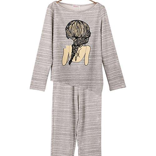 La Sra Otoño Pijamas/ yukata/ el manto/Pantalones pantalones B