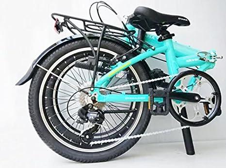 Oyama Skyline 7 Color Verde bicicleta plegable bicicleta: Amazon.es: Deportes y aire libre