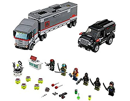 Amazon.com: LEGO teenage mutant ninja turtles TMNT Big Rig ...
