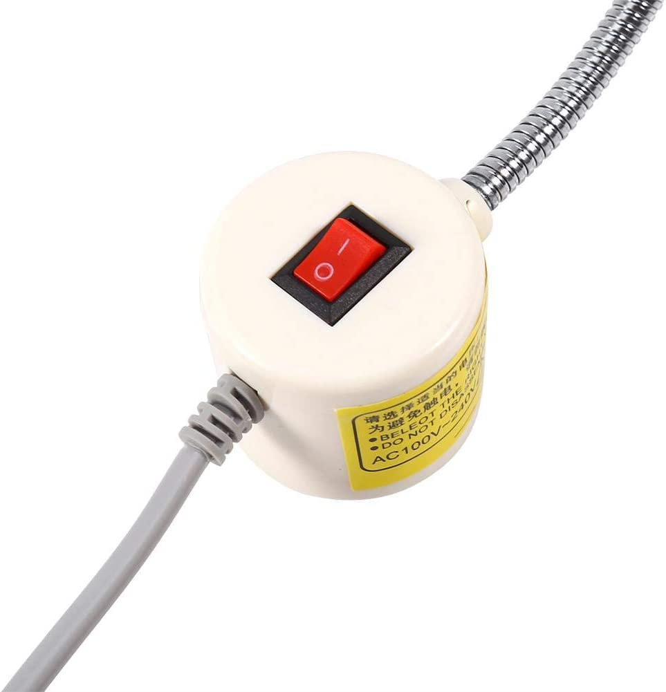 PBZYDU 30 LED Light Lamp for Sewing Machine Working with Magnetic Base Switch