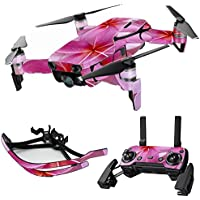 MightySkins Skin for DJI Mavic Air Drone - Flowers | Max Combo Protective, Durable, and Unique Vinyl Decal wrap cover | Easy To Apply, Remove, and Change Styles | Made in the USA
