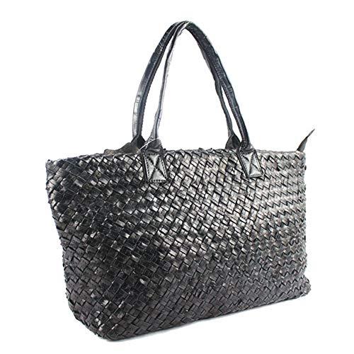 Capacità Bag Incontri Shopping Grande Tessuta Impermeabile Pelle Giornaliero Svago Wuhx Da A B In Tracolla Multi Donna Messenger Bag Studente funzione Di Borsa wSqPRH1
