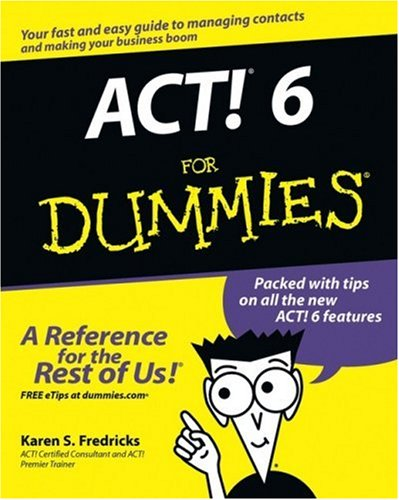ACT! 6 for Dummies-cover