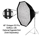 Fotodiox EZ-Pro Octagon Softbox 48'' with Speedring for Metz Flash AF, AF-1, AF-2, 58, 56, 54, 50, 48, 44, 40, 48