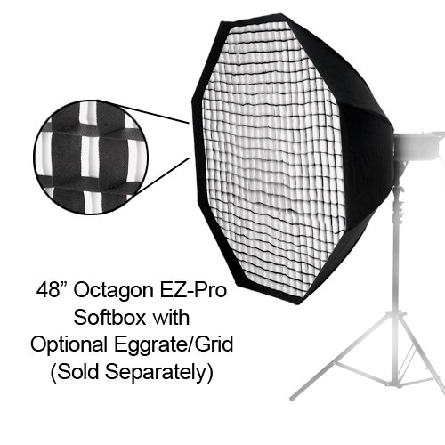 Fotodiox EZ-Pro Octagon Softbox 48'' with Speedring for Metz Flash AF, AF-1, AF-2, 58, 56, 54, 50, 48, 44, 40, 48 by Fotodiox