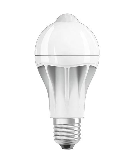 Osram LED Star+ Motion Sensor Classic A Lampe, in Kolbenform mit E27-Sockel, integrierter Bewegungssensor, Ersetzt 75 Watt, M