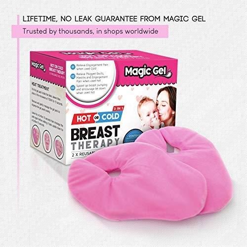 Amazon.com: Magic Gel pecho paquetes de hielo – terapia fría ...
