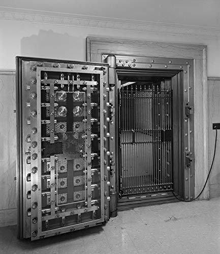 Photography Poster - Door, Bank, Vault, Safe Deposit, 24