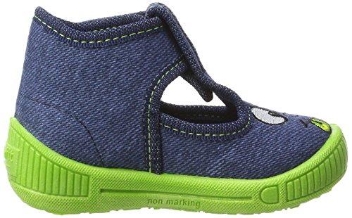 Superfit Bully - Zapatillas de casa Niños Blau (Water)