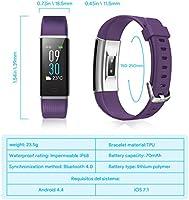 NAIXUES Pulsera Actividad Impermeable IP68, Pulsera Inteligente ...