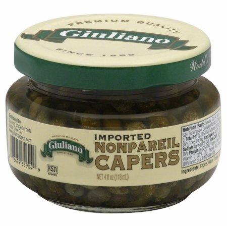 Giulianos Nonpareil Caper, 4 Ounce - 12 per case.