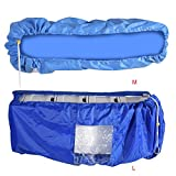 Air Conditioner Waterproof PU Cleaning Protection Cover Dust Washing Clean Protector Bag with Water Outlet DIY Washing Household Cleaning Toolsfor 2P 3P