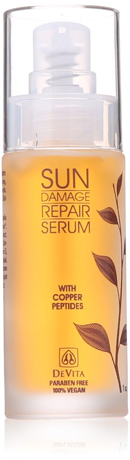 DeVita - Sun Damage Repair Serum - 1 oz. Sjal Pearl Enzyme Exfoliating Mask 2.0 Oz / 60 ml New In Box