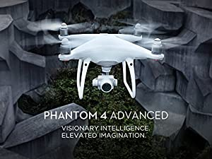 DJI Phantom 4 Advanced Quadcopter Drone Bundle (DJI CP.PT.000689) Remote Controller with Built in Monitor from DJI Bundles