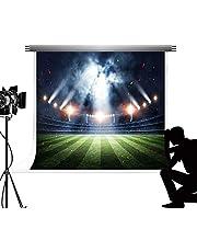 Kate Grassland Backdrops for Photography Cotton Football Field Fotografica Bokeh Backgrounds for Fond Studio Photos