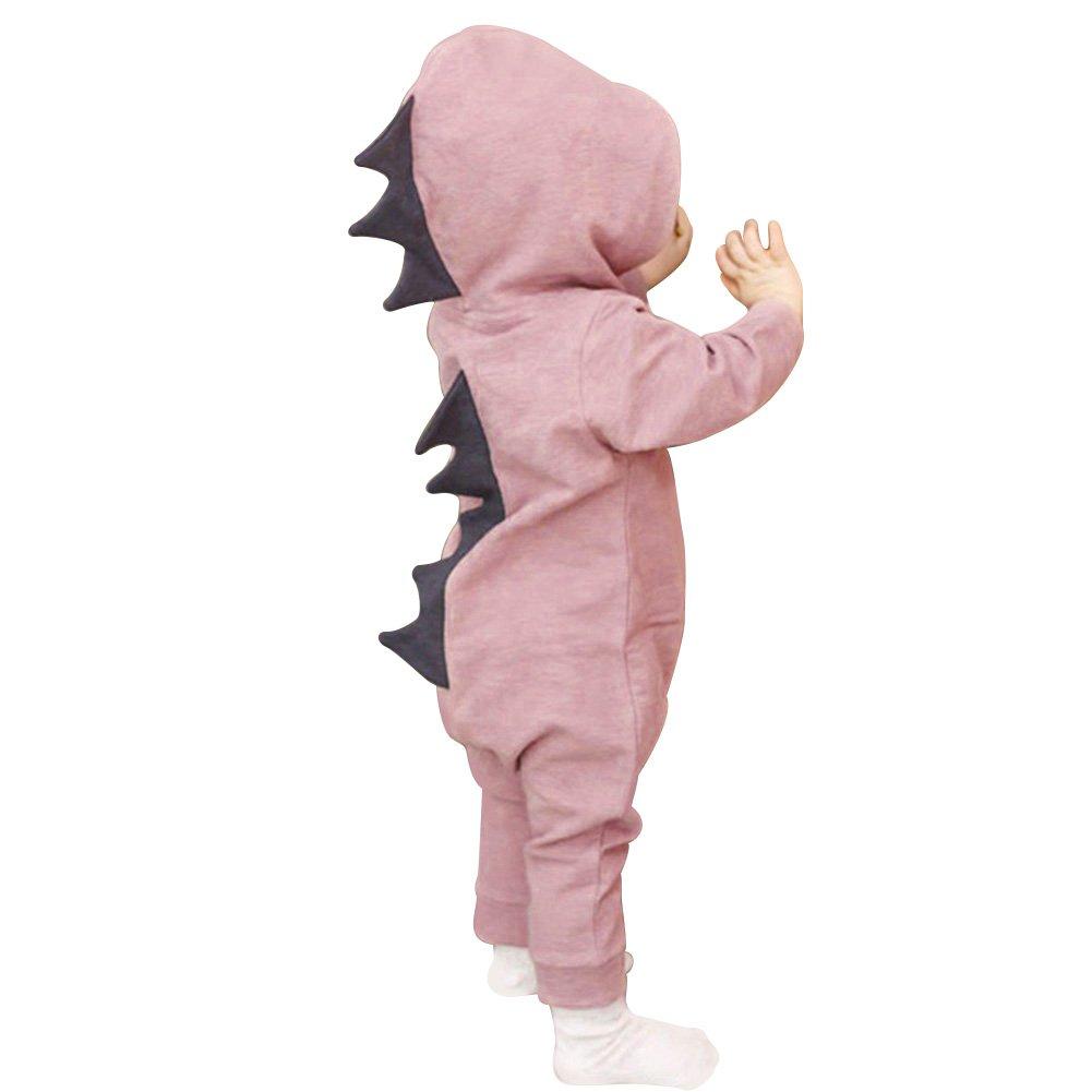 bjduck99 Baby Boy Girl Halloween Dinosaur Costume Newborn Toddler Jumpsuit Romper