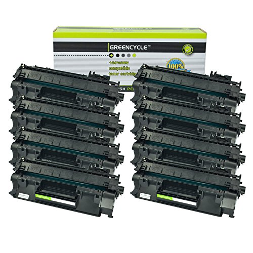 - GREENCYCLE 8 Pack Compatible for HP CF280A Toner Cartridge (80A) for Laserjet Pro 400 MFP M401/M425 Laser Toner Printers