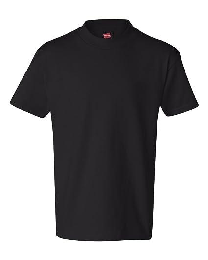 e6b05c13 Amazon.com: Hanes Youth 6.1 Oz Tagless T-Shirt: Clothing