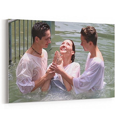 Westlake Art - Water Vacation - 12x18 Canvas Print Wall Art - Canvas Stretched Gallery Wrap Modern Picture Photography Artwork - Ready to Hang 12x18 Inch ()
