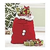 Kyпить Velvet Santa's Gift Sack with Cord Drawstring на Amazon.com
