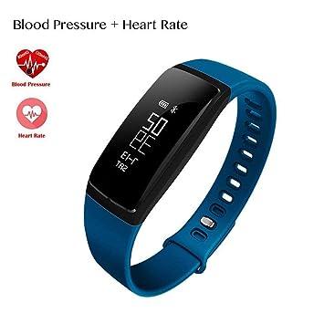 Reloj inteligente de seguimiento de frecuencia cardíaca - podómetro, contador de pasos, calorías,