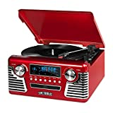 Best Vintage Record Players - Victrola 50's Retro Record Player with Bluetooth Review