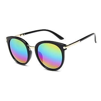 ZHOUYF Gafas de Sol Kdeam Gafas De Sol Redondas De Lujo ...