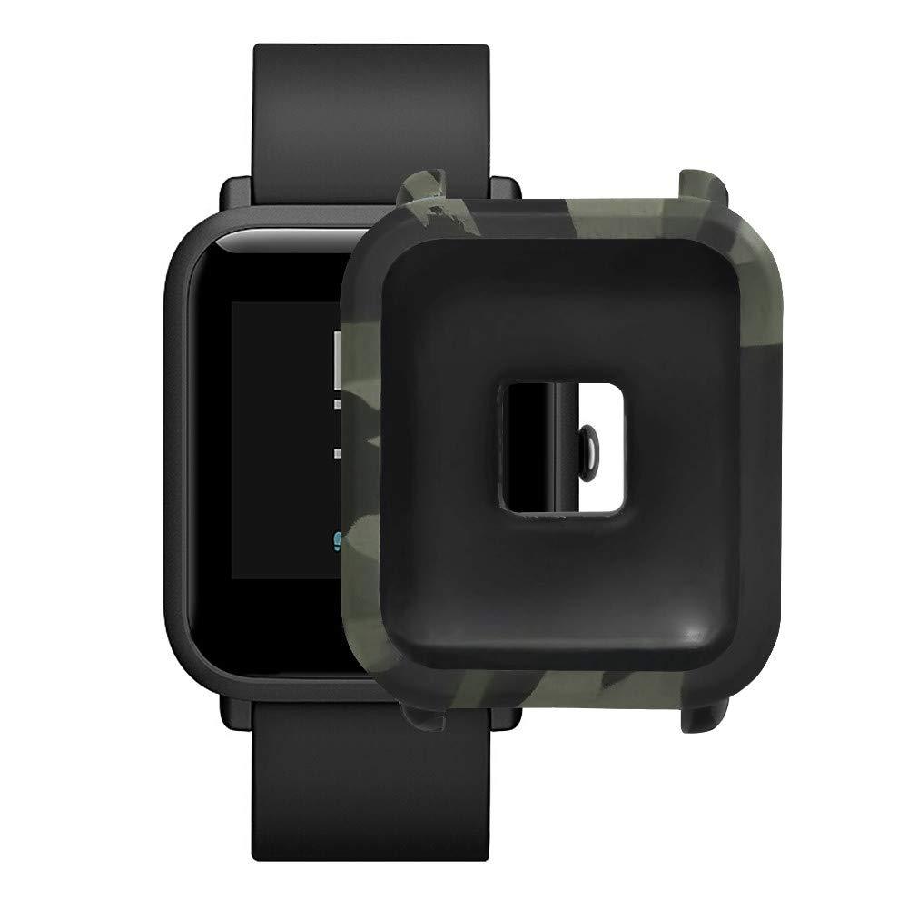 elecenty Smartwatch, Funda Protectora Completa De TPU Camuflaje ...