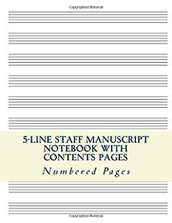large staff paper