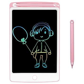 NOBES Tableta de Escritura LCD 8.5 Inch Colorida, LCD Tablero de Dibujo Gráfica Pizarra Magica de Mensaje Memo Pad Electrónico con Lápiz Regalos para ...