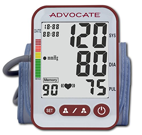Advocate Arm Blood Pressure Monitor, X-Large, 26 -