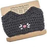 Cat Reusable Crochet Coffee Cup Cozy Sleeve