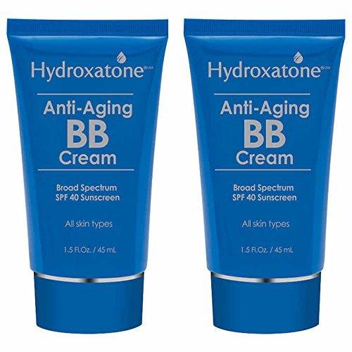 Hydroxatone Anti-Aging BB Cream 2-Pack