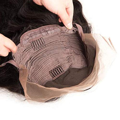 Hair Wig,FAPIZI Fashion Lace Front Human Hair Wigs Pre Plucked with Baby Hair Curly Brazilian Remy Hair Wig by FAPIZI Women Wig (Image #1)