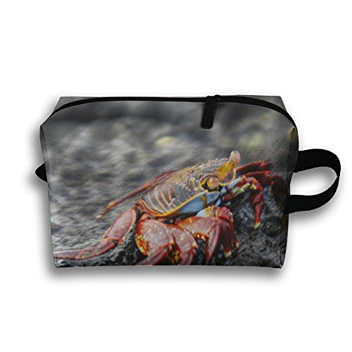 Sally Lightfoot Crab - Sally Lightfoot Crab Travel / Home Use Storage Bag, Carts Storage Space, Light Weight Moving Bags, Organizers Handbag Set
