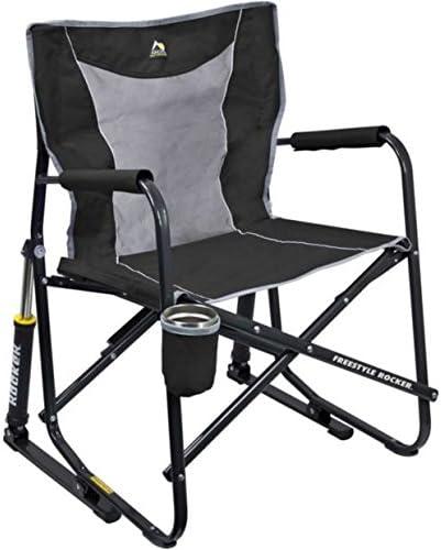 GCI Outdoor FirePit Rocker Portable Folding Low Rocking Chair