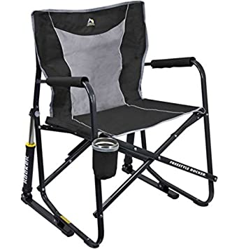 GCI Outdoor Freestyle Rocker Mesh Chair Black