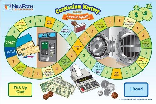 NewPath Learning Algebra Skills Curriculum Mastery Game, Grade 6-10, Class Pack