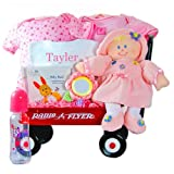 All Girl Personalized Baby Wagon
