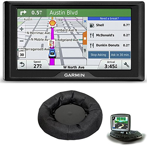 Garmin Drive 50LM GPS Navigator Lifetime Maps (US) 010-01532-0C Dashboard Mount Bundle Includes GPS and Universal GPS Navigation Dash-Mount
